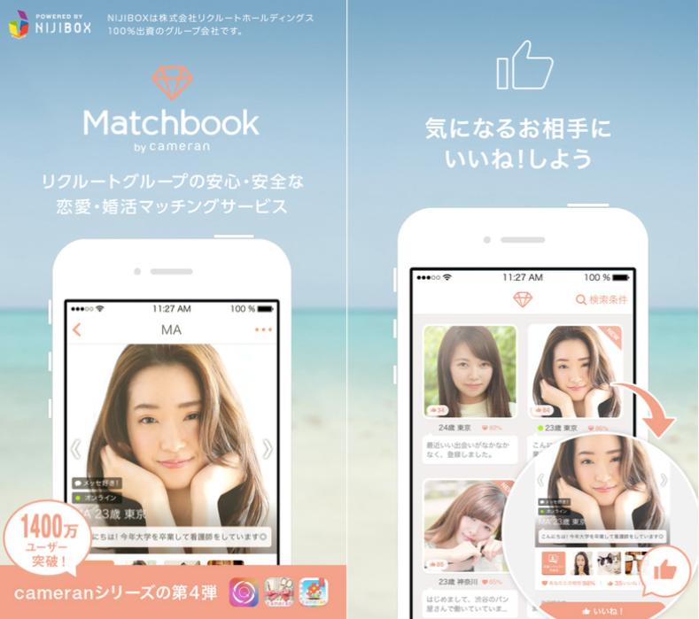 マッチブックとはどんなアプリ